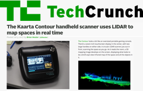 TechCrunch The Kaarta Contour handheld scanner uses LIDAR to map spaces in real time