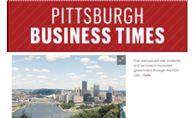 Pittsburgh Business Times          Five start ups selected as second cohort of PGHLab program