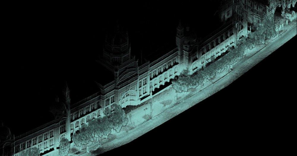 Victoria and Albert Museum facade.