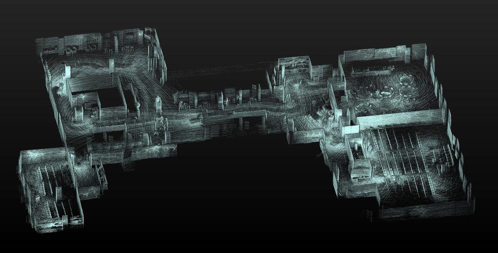Convene NYC. Site of MIPIM PropTech Conference. Scanned with Contour in 11 minutes.