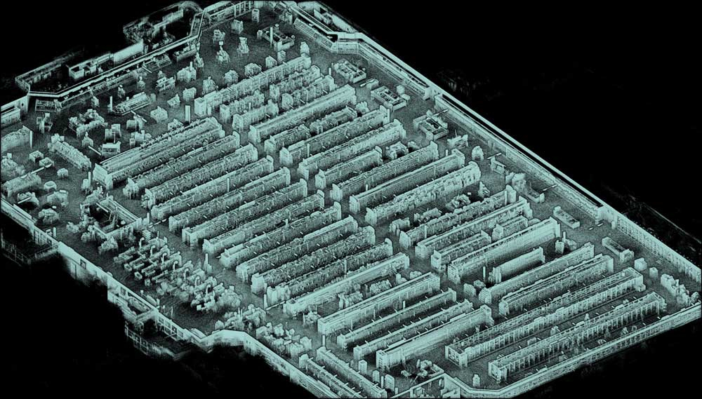 3D map of a 50,000+ square foot grocery store captured with Kaarta Stencil in under one hour.