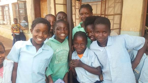 Pictured Grade 5 Girls at Chivuse)