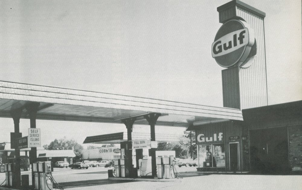 The early years: Gulf Canopy and Monument Sign