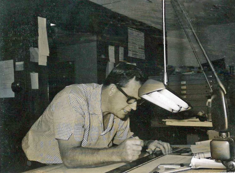 Don Morris, founder, early 1960's
