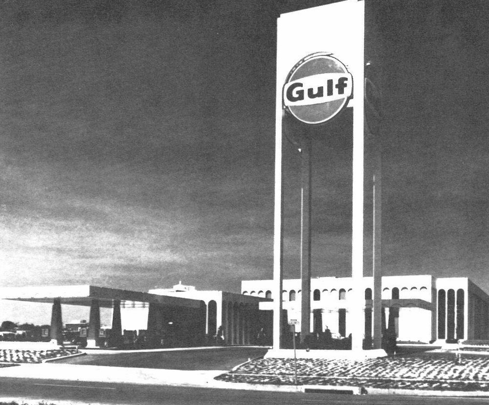 The early years: Stations for Gulf Oil