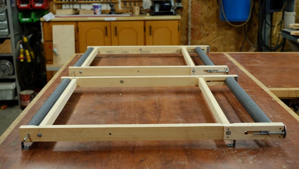 Mécanique d'animation   Acier, bois, quincaillerie sur mesure