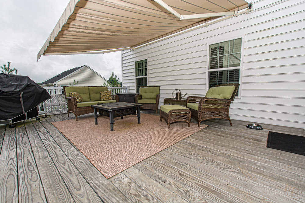 Great covered deck