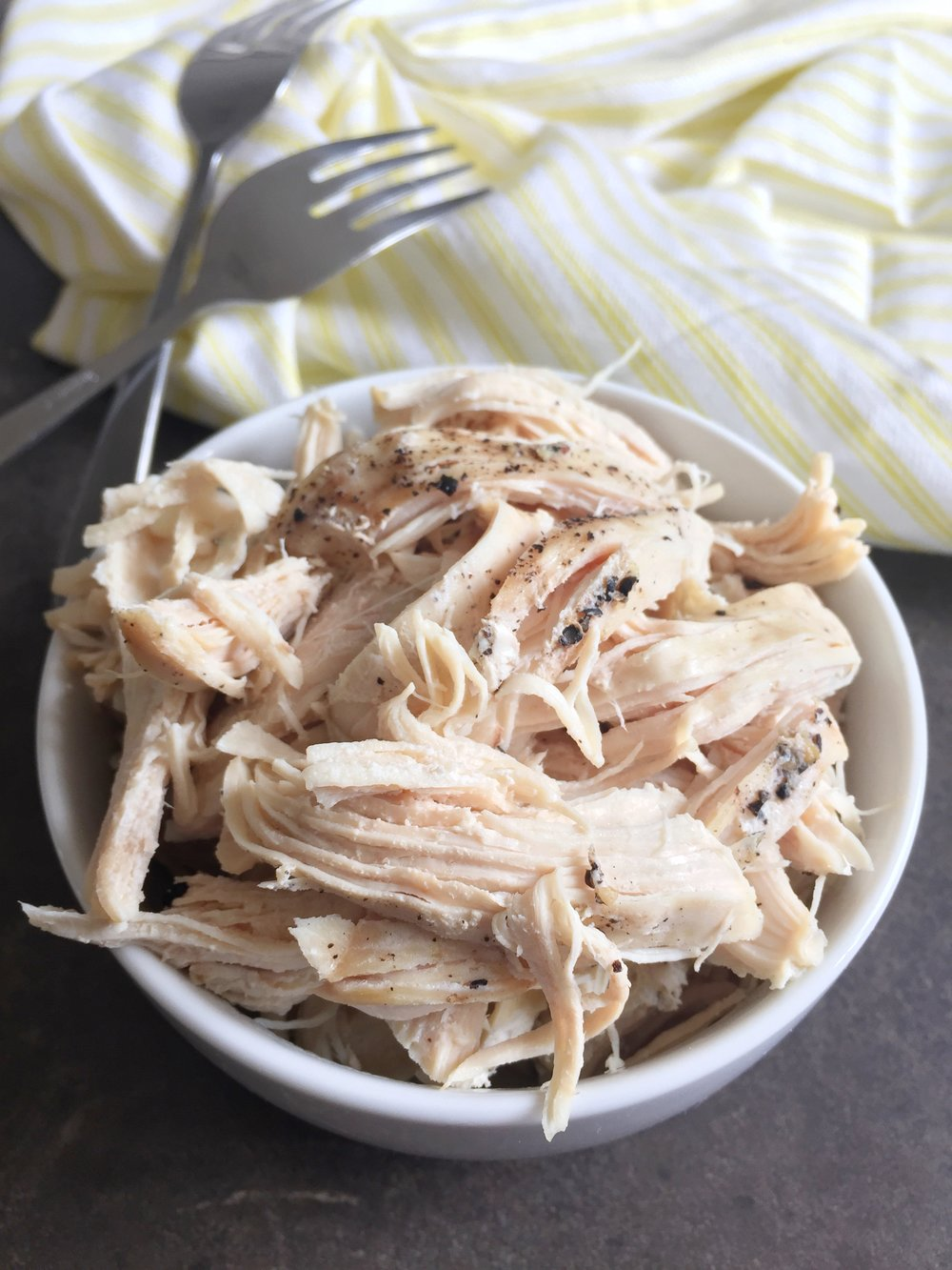 Instant Pot Shredded Chicken (From Frozen in Minutes!)