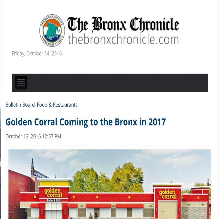 The Bronx Chronicle - Oc   t 12, 2016