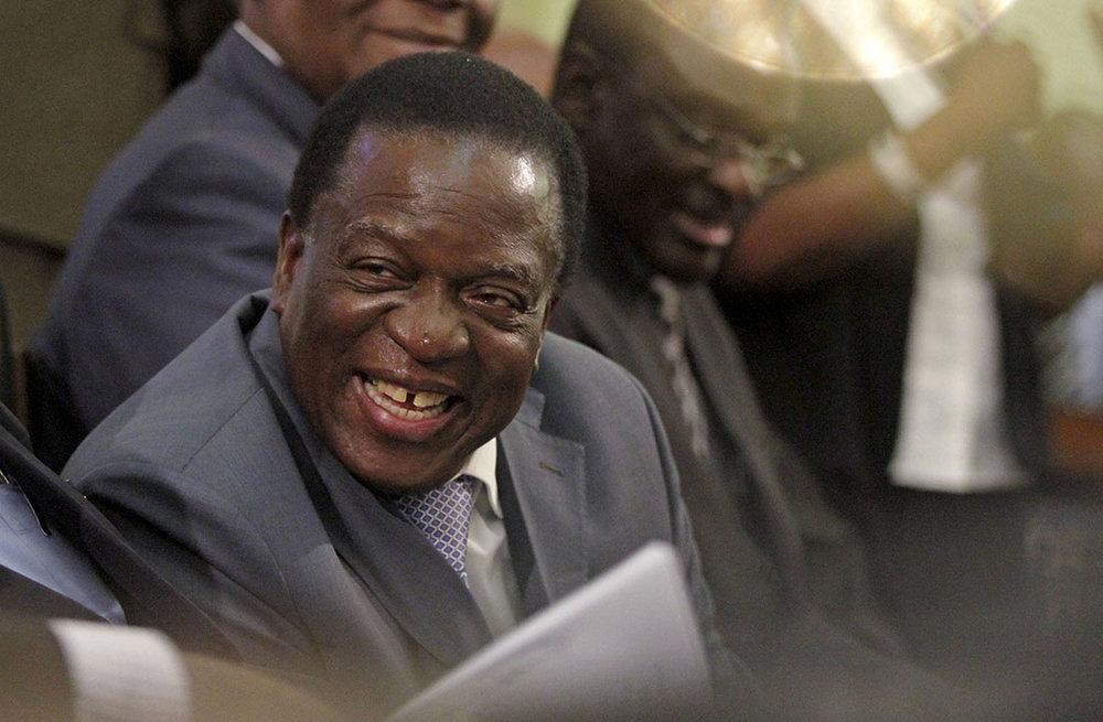 Emmerson Mnangagwa, Zimbabwe's new president. || Philimon Bulawayo, Reuters.