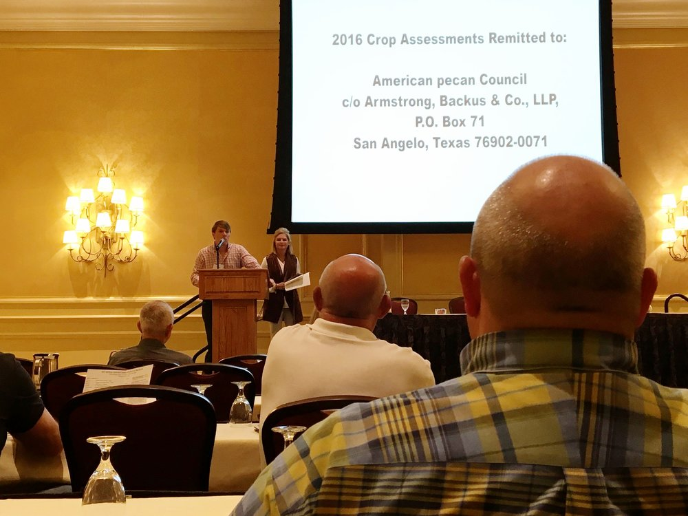 Southeastern Pecan Growers Association (SEPGA) at the Beau Rivage in Biloxi, MS