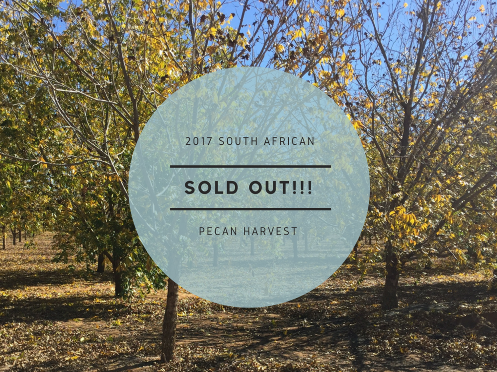 2017 South African Pecan Harvest
