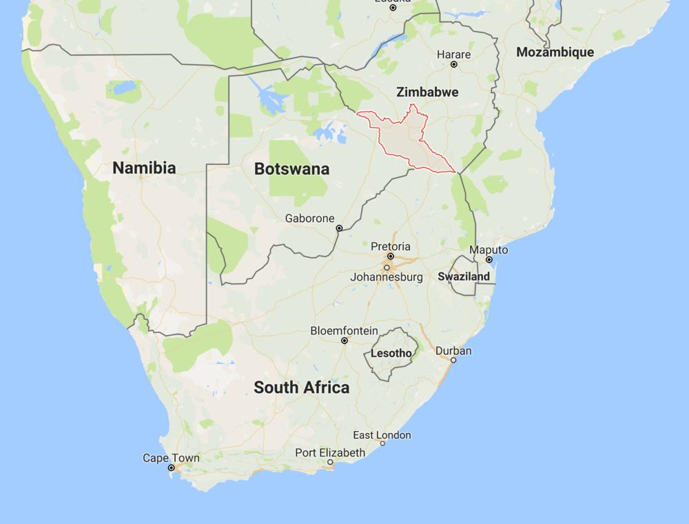 MERCADO DE PECAN EN ZIMBABWE