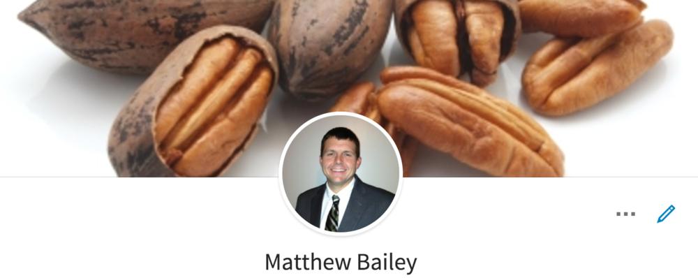Matthew Bailey pecans