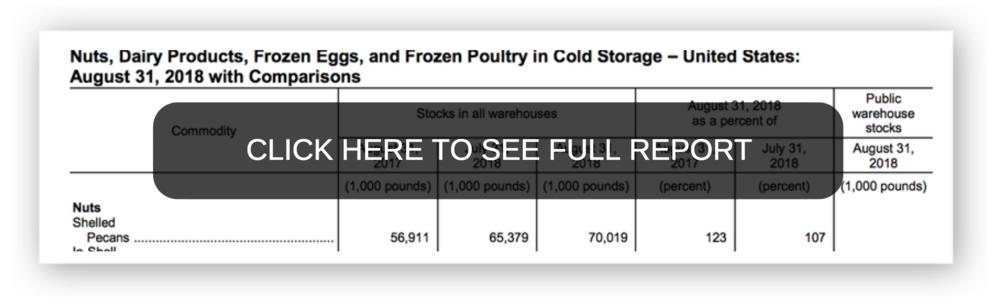 USDA-NASS COLD STORAGE REPORT