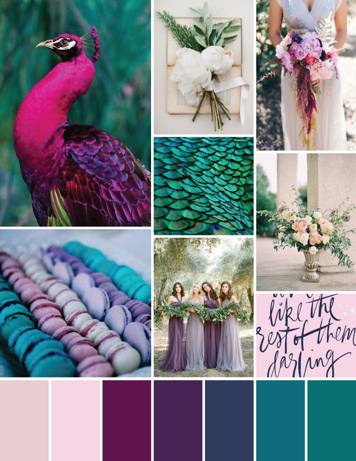 Earthy Italian Peacock Mood Board | Magnoliahouse Creative