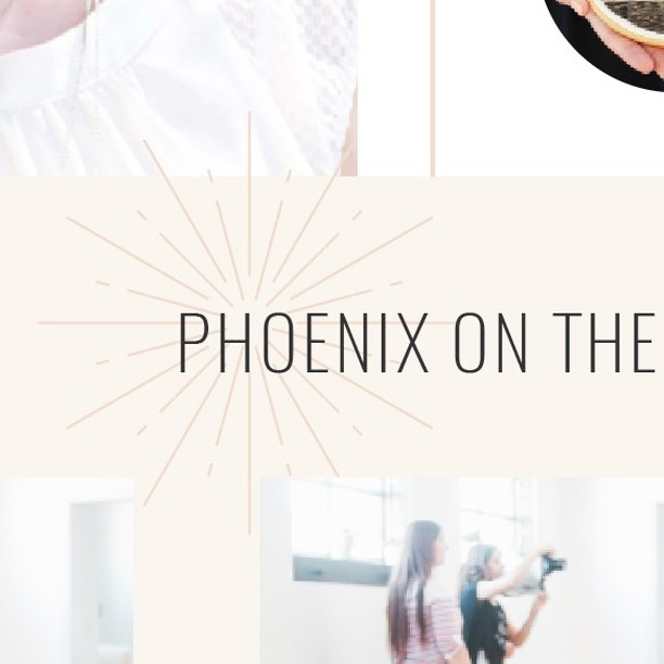"""""""Put a bird on it,"""" said Portlandia. """"Put a starburst on it,"""" said Irene and @theresadelaney on every last corner of the new @creativetribeworkshop website. Can't wait to launch this beauty so, so soon!"""