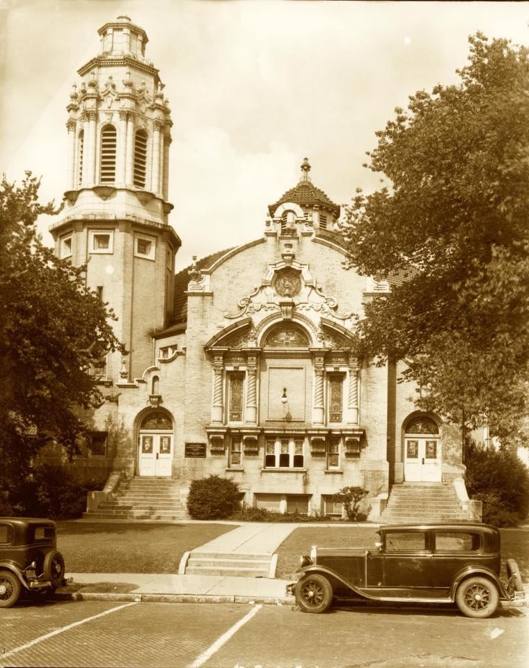 Highlands United Methodist Church c. 1934