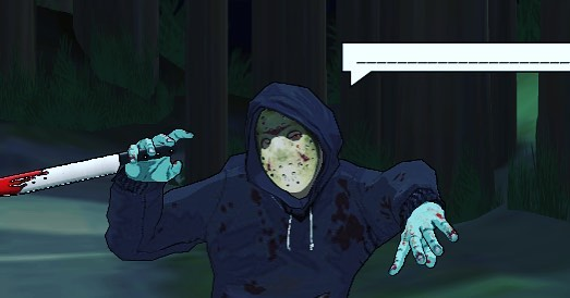 Calling all writers: 🗯🗯CAPTION THIS 🗯🗯screenshot of our killer in action in the woods outside the Scary Cabin.. * * * #writersofinstagram #writingprompts #amwriting #teenwriters #teenauthor #episodewriter #interactivefiction #immersivestorytelling #futureofstorytelling #horrorcomic #horrorwriter #interactivegames #narrativegame #newtechnology #chatbot #bots #machinelearning #hollywood #fanengagement #cyoa #multipleendings