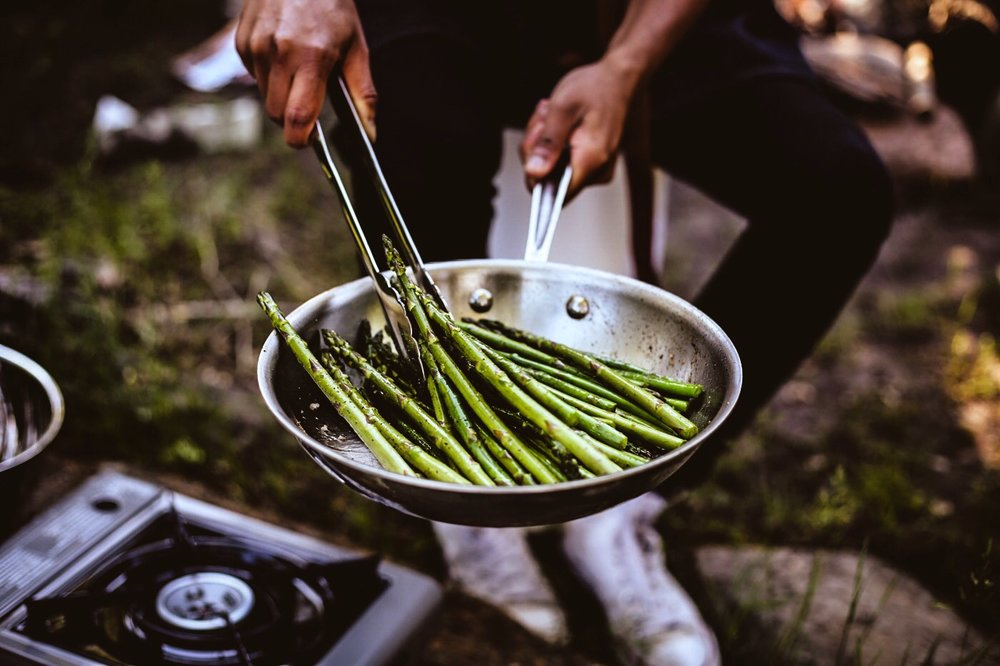 Sautéed Asparagus (Photo captured by  @ajfernando )