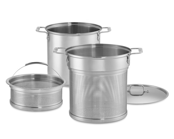 Perforated Multipot with Steamer Basket, 12-Qt.