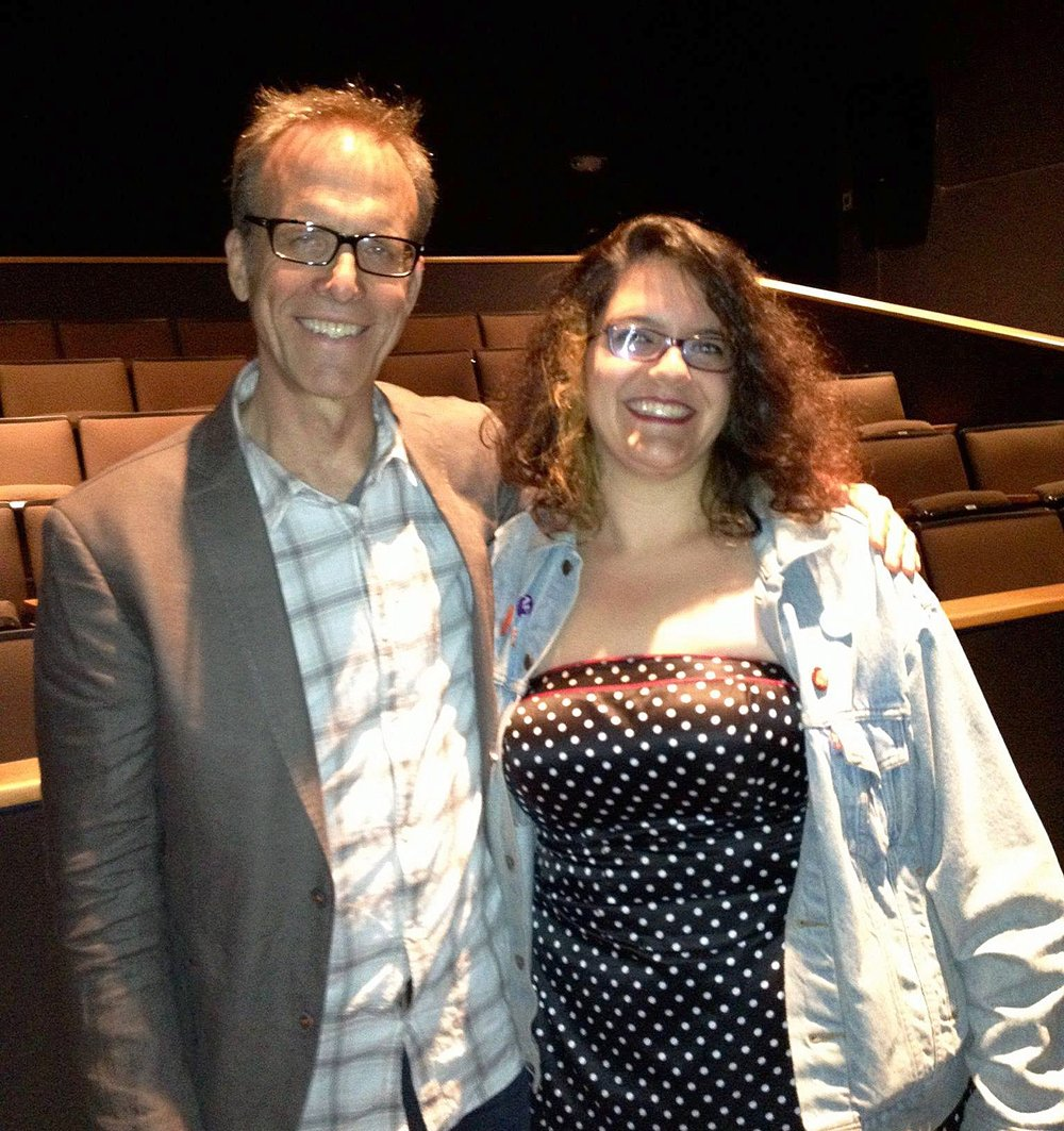 Filmmakers Kirby Dick & Margo Flitcraft at the 2012 CSU Summer Arts screening of The Invisible War.