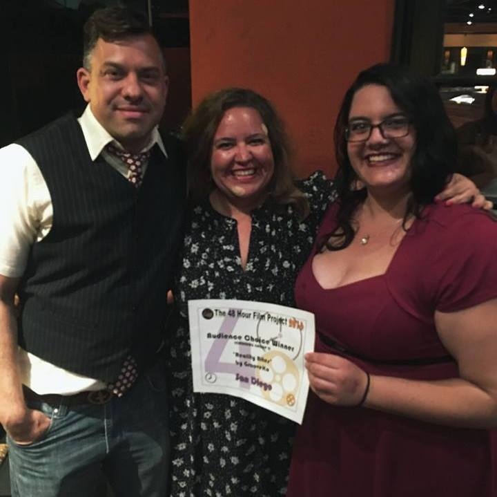 Jonathan Hammond, Carla Nell & Margo Flitcraft of Team GrooveKo, winners of 1st Place Audience Choice Award