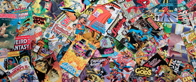 Superhero comics:  There are tons of requests for comics by prisoners.  Comics are a great way to get casual or non-readers to become engaged with literature and stories because of the association with other worlds and pictures.  Comics are surprisingly complex and deal with huge themes which are quintessential in finding moral or heroic associations with real life.