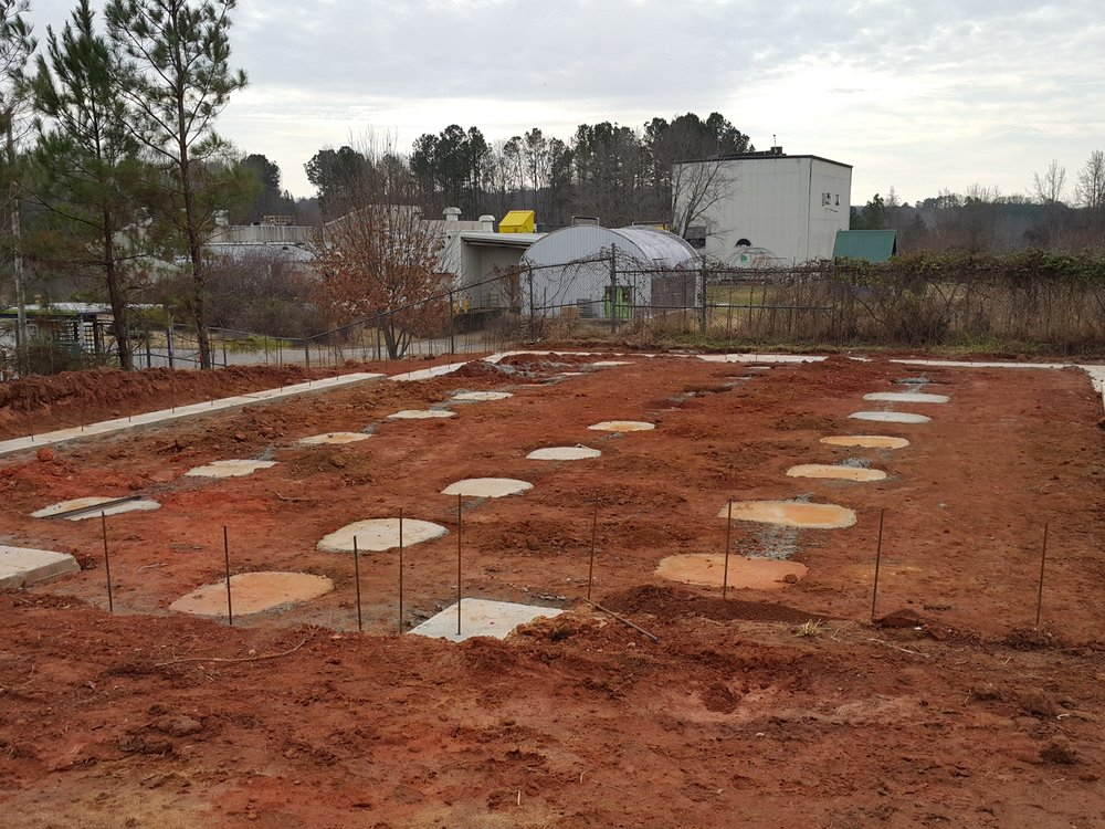 Filled in Footings