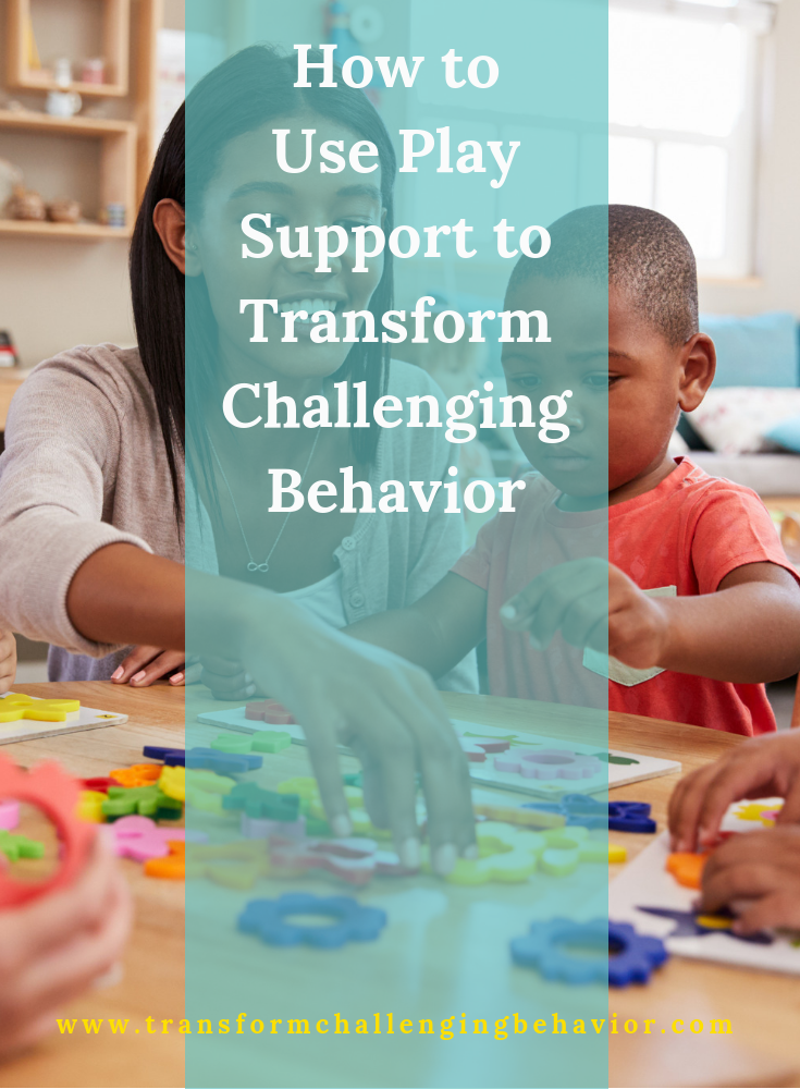 Use Play Support to Transform Challenging Behavior