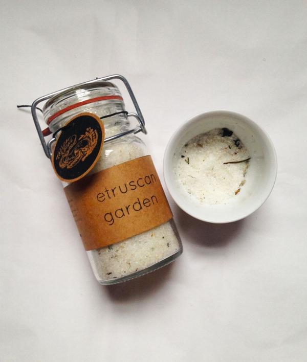 Etruscan Garden bathsalt -- SOLD OUT