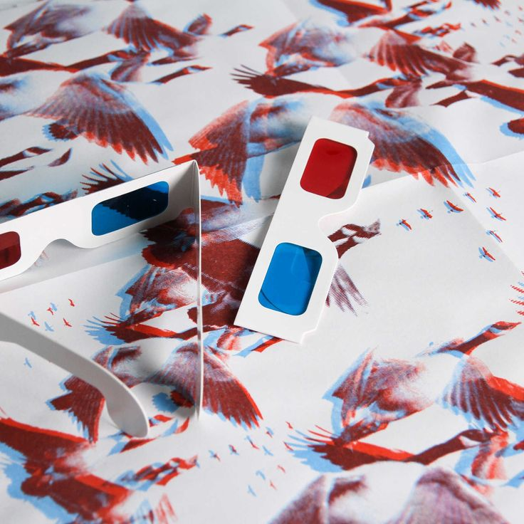 Canada Geese 3D Gift wrap