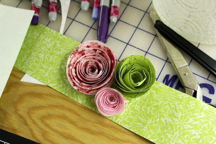 Paper Roses
