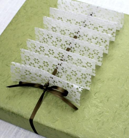 Watermark Tissue Ruffle
