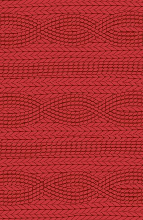 Cable-knit wrapping paper from Elum