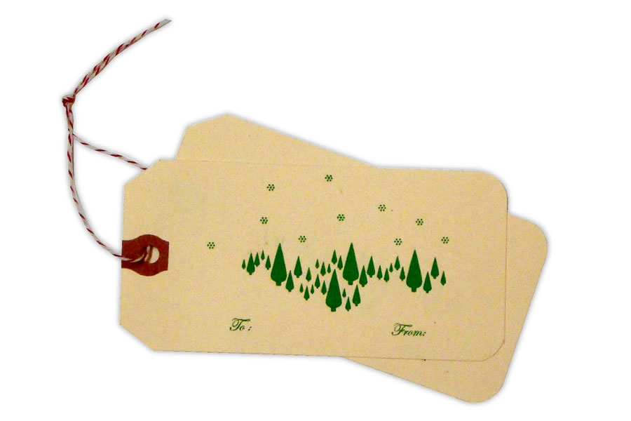 Christmas Tree Tags from Kid Icarus