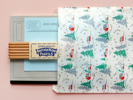 '50s Christmas Paper Bag
