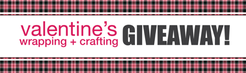 Valentine's Wrapping and Crafting Giveaway from 3M