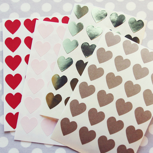 Happy Heart Stickers from Shop Sweet Lulu
