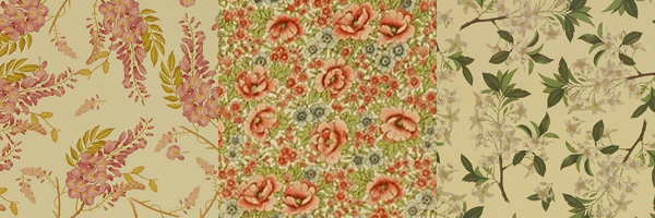 Floral Wrapping Papers -2
