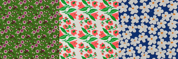 Floral Wrapping Papers -3