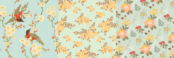 Floral Wrapping Paper -7