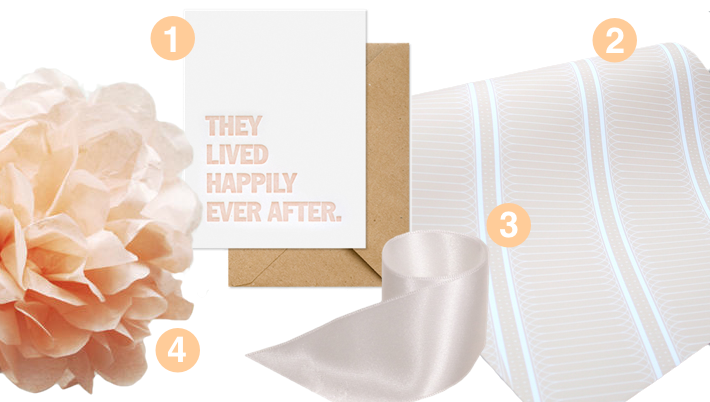 Packaged Goods: An Apricot Wedding Gift