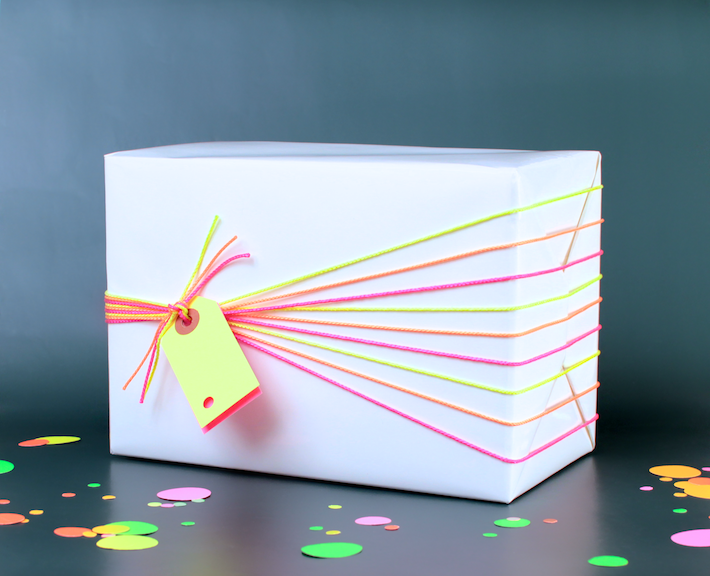 Neon Gift Wrap