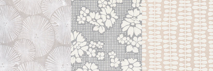 Wedding wrapping papers: Flora