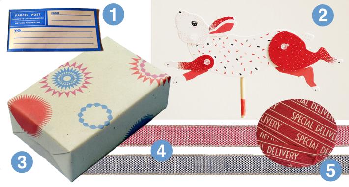 Paper Bunny Parcel