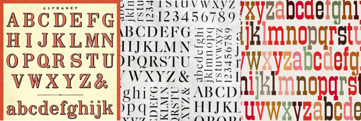 ABC/123 Wrapping Papers: AlphabeticalOrder
