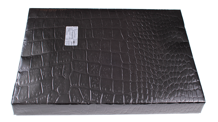 Black Alligator wrap