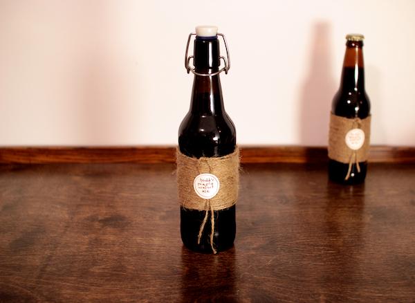 Jute-Wrapped Bottles