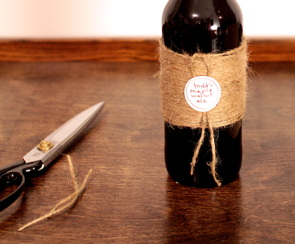 Jute-Wrapped Bottle, step 5